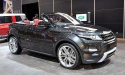 Range Rover Evoque сорвало крышу