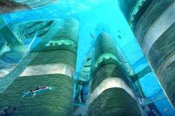 В Китае появится подводный мегаполис с небоскребами