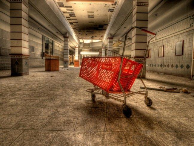 Заброшенные торговые центры